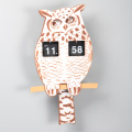 Interesting Owl-shape Flip Clock