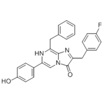 Imidazo [1,2-a] pyrazin-3 (7H) -on, 2- [(4-fluorphenyl) methyl] -6- (4-hydroxyphenyl) -8- (phenylmethyl) - CAS 123437-16-1
