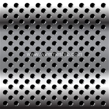 Round Hole Galvanized Perforated Steel Sheets