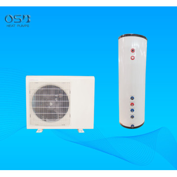 air water split heat pump with 200L tank