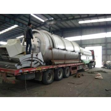 batch tyres/rubbers pyrolysis to oil equipment