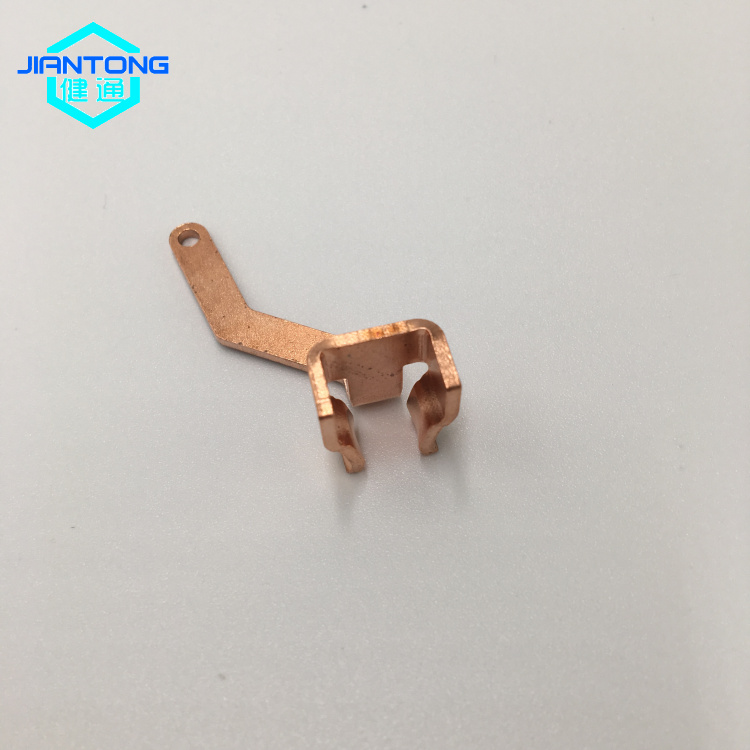 Copper Stamped Electronic Components Stamping