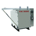 Vertical ethylene oxide sterilizers