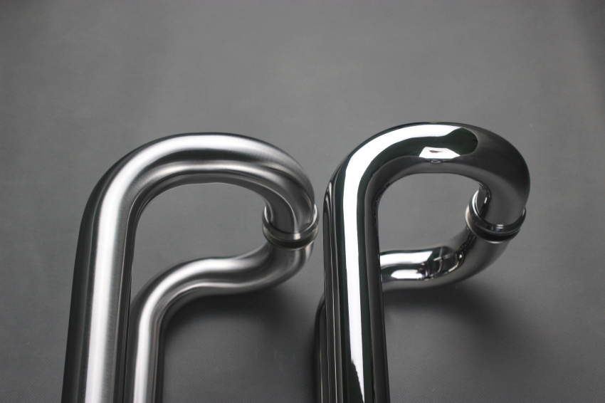 Stainless Steel Cranked Pull Handle
