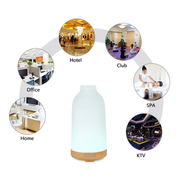 Ultra Easy Operation Electric Mini Aroma Glass Diffuser