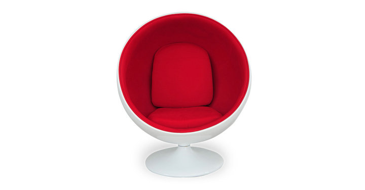 Standing ball chair