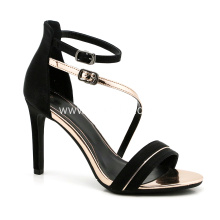 Party Black Heel Shoes for Ladies