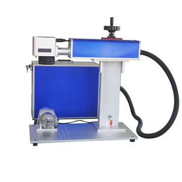 20W 30W 50W MOPA Colorful Laser Marking Machine