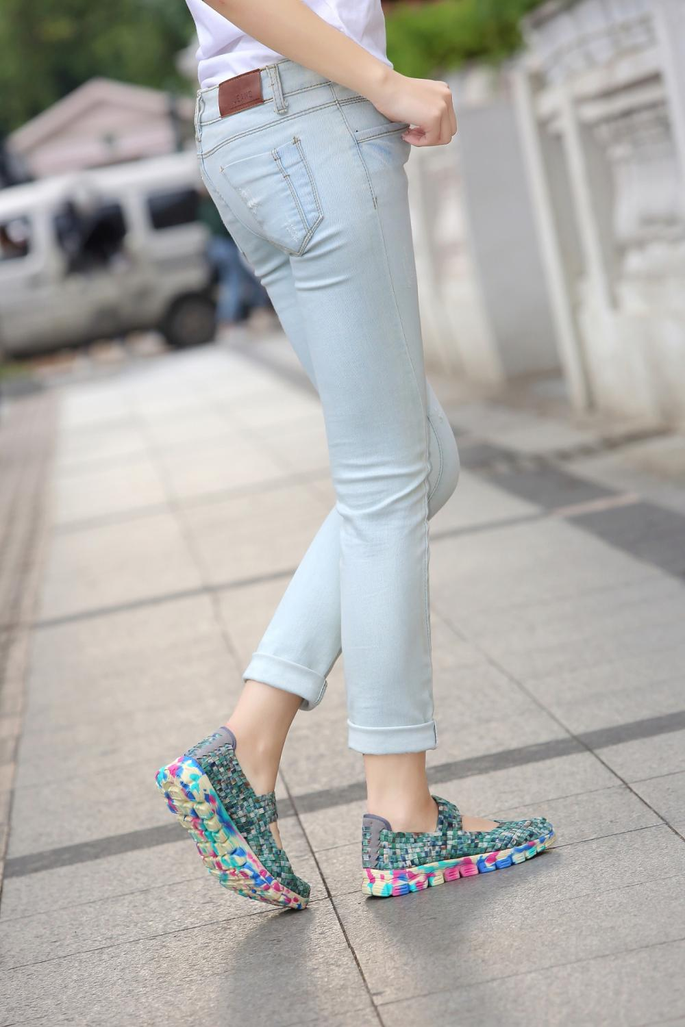 Casual Shoes With Flat Heels