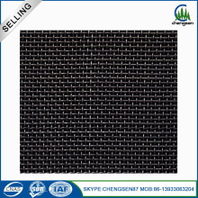 10X10 Low Carbon Steel Black Wire Cloth