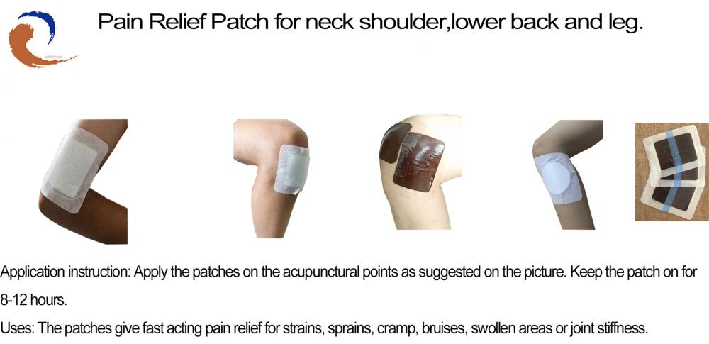 Pain Relief Patch For Leg