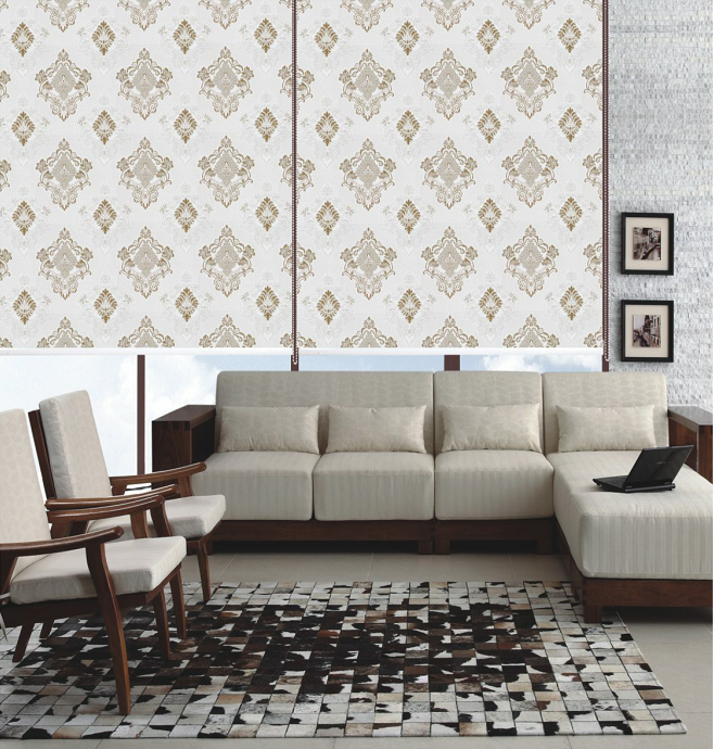 Roller Curtain Blind Jacquard