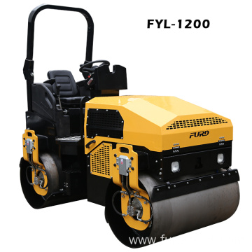 Medium Size CVT Speed Double Drum Vibrating Roller