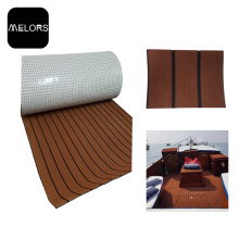 Dark Brown + Black Color Marine EVA Foam Boat Mat