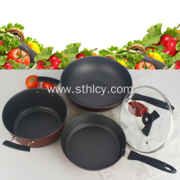 Non-stick Cookware Set Three-piece