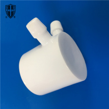 glaze precision Al2O3 alumina ceramic structural parts