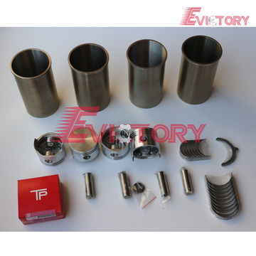 excavator 4P engine gasket bearing piston ring liner