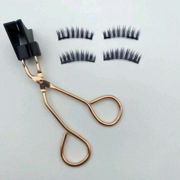 2020 3D magnetic eyelashes with tweezers
