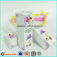 Cardboard Paper Perfume Packaging Box