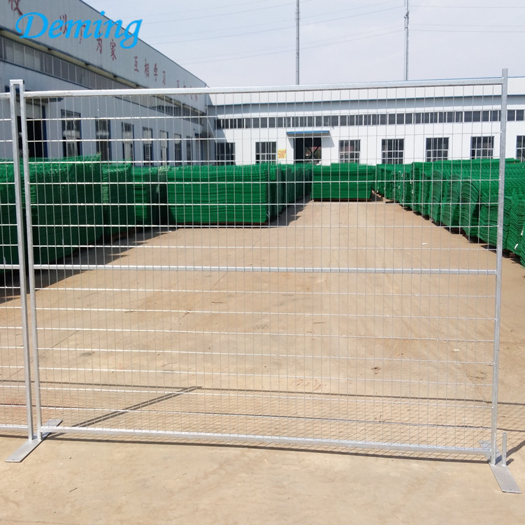 Australia Construction Site Galvanized Removable Used Temporary Fence,
