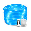Blue Tube LED Battery Powered String Rope Light