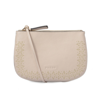 Customized Handbags Evening Clutch Beige Geometric Bag