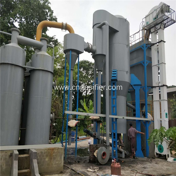 200kw Rice Husk Gasification Power Generation