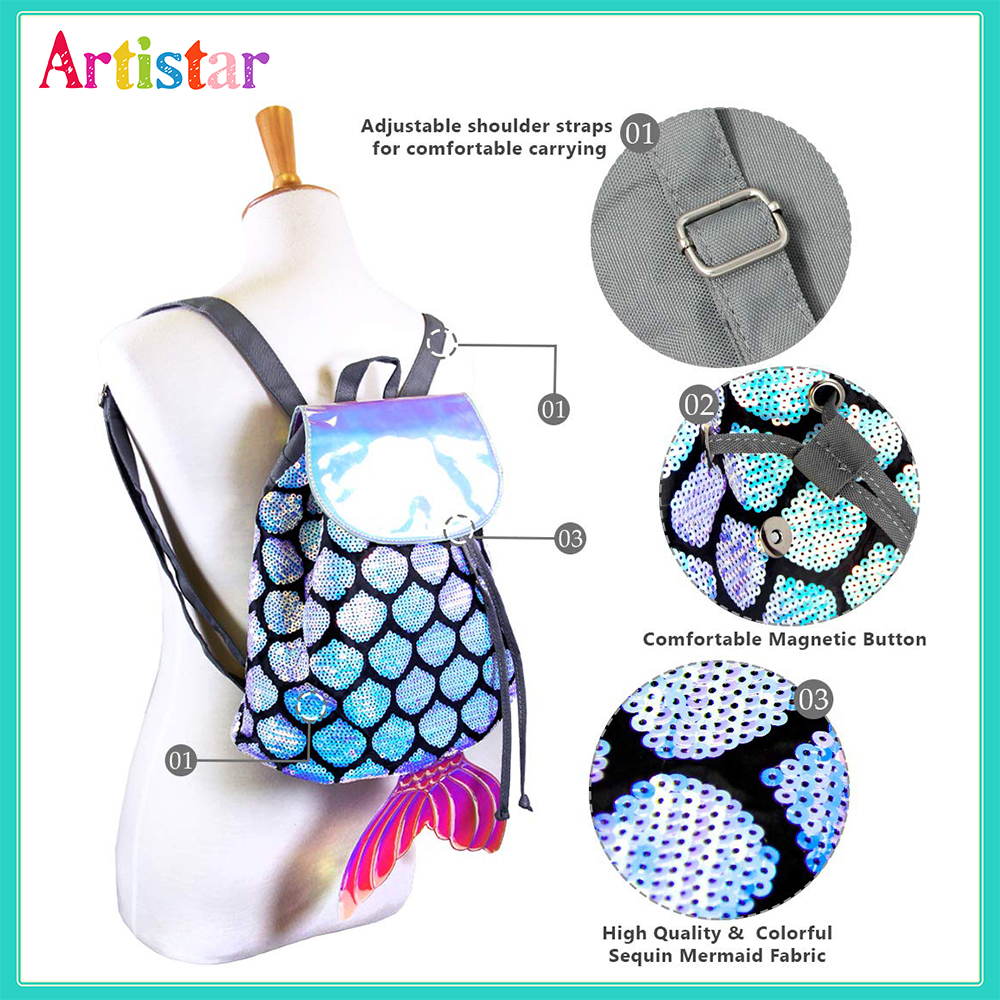Mermaid Modelling Backpack 01 3