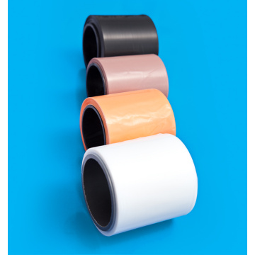 Colored transparent Ptfe film