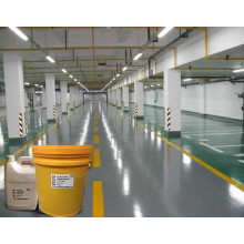 Medium gray epoxy flat coating