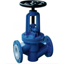 High definition for Straight Globe Valve Straight PTFE Lining Fluorine Lined Globe Valve supply to Poland Wholesale