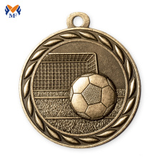 10 Years for Football Medal,Basketball Medal,Sports Medal Manufacturers and Suppliers in China Sports engraving gold silver bronze metal soccer medals export to Bosnia and Herzegovina Wholesale