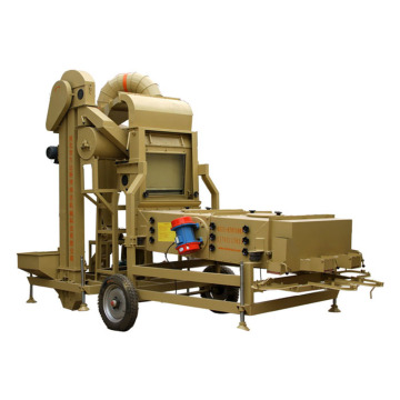 8T/h Wheat Corn Seed Vibration Cleaning Machine