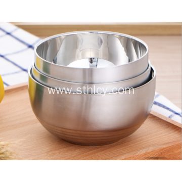 304 Heat Resistant Stainless Steel Bowl