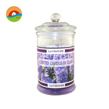 Fragrance Label Wedding Aroma Decorative Glass Candle