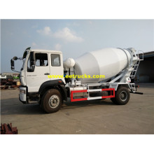 HOWO 4 M3 Concrete Transport Vehicles