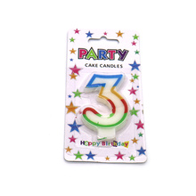 High quality custom number birthday candle