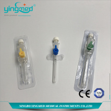Medical I.V. Cannula with injection port with Wings