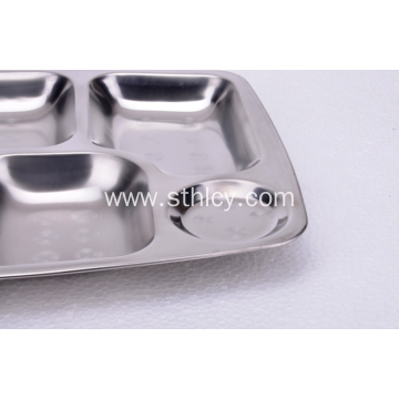 High Quality Stainless Steel Snack Plate