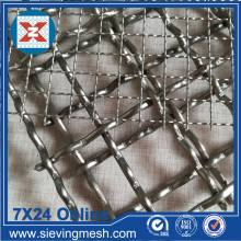 SS 304 Crimped Sieve Mesh