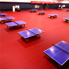 ITTF Table Tennis Flooring PVC Sports Floor