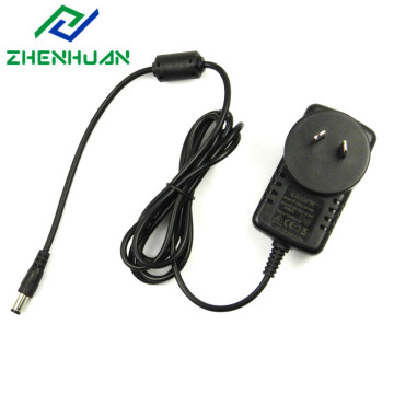 Adaptador australiano da CA da tomada do plugue de 12V 1.5A 18W