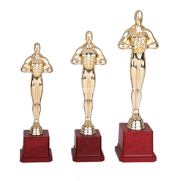 Super Quality Custom Oscar Trophy Awards Trophy