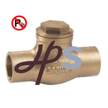Lead Free brass Swing Check Valve