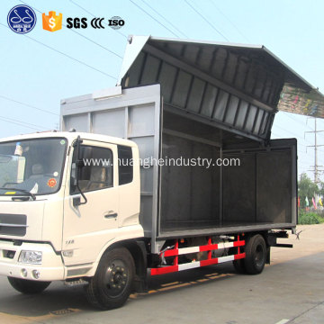 ten wheeler truck wing van