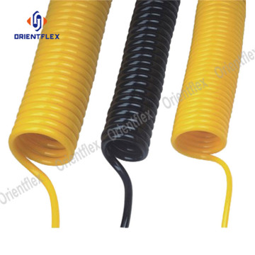 Retractable coil hose garden hose pipe
