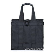 20 Years manufacturer for China Shopping Bags,Fashion Shopping Bags,Canvas Shopping Bags Factory Black Fabric Shopping Bags for Men Women export to Israel Factory