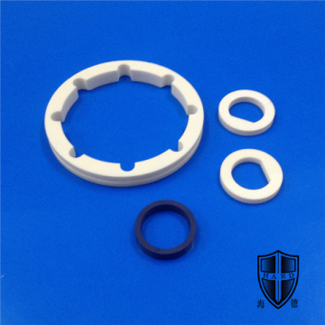 abrasive high precision alumina zirconia ceramic ring sleeve
