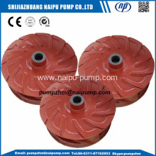 AH horizontal slurry pump impeller