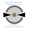 Separate The Insulation From #1 Bright Copper Cable Wire